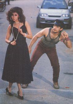 Urmila Matondkar & Aamir Khan