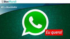 NOVIDADE! Se você usa o Whatsapp então veja o que aconteceu na nova atualização