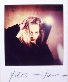 Uma Thurman, Polaroid by Mark Sink