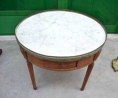 Tavolo da salotto in stile Luigi XVI Napoleone III primo '900