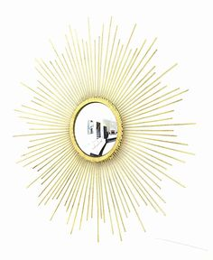 Starburst Mirror, Gold Gold Starburst Mirror, Decor, Decorating, Dekoration, Deco, Decorations, Deck, Decoration, Ornaments