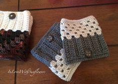 Boot Cuffs - leg warmers - Boot Socks - Crochet Boot Cuffs - Fashion Accessory - Winter Accessory - Under 15 Gift - stocking stuffer by InLoveWithSunflowers on Etsy https://www.etsy.com/ca/listing/177461379/boot-cuffs-leg-warmers-boot-socks