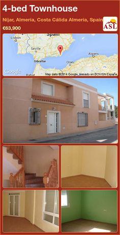 4-bed Townhouse in Níjar, Almería, Costa Cálida Almería, Spain ►€63,900 #PropertyForSaleInSpain