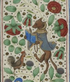"« Chroniques sire JEHAN FROISSART ». Français 2646 Auteur : Froissart, Jean (1337?-1410?). Auteur du texte Date d'édition : 1401-1500-- I always thought a fox the best dressed of animals red coat sleek and fluffy, but I guess there are times that even they want to"" put on the dog."""
