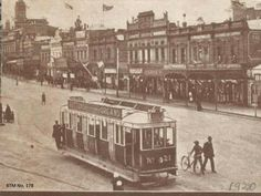 Sturt St in Ballarat,Victoria in the showing Tram Vintage Photographs, Vintage Photos, Victoria Attractions, Melbourne Suburbs, Melbourne Victoria, Amazing Pics, Urban Landscape, Old Photos, Places To Visit