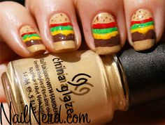 BBQ-Themed Nail Art Just In Time For Memorial Day! | MTV Style