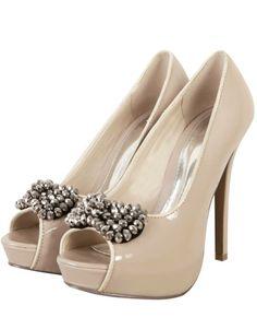 #nude high heels