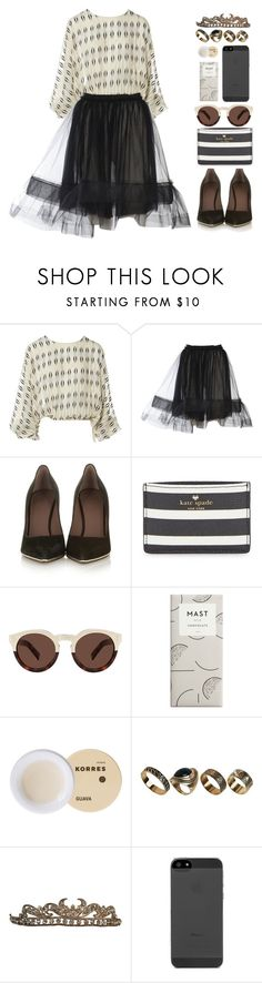 """i've got your photograph"" by heymishiehere ❤ liked on Polyvore featuring Lanvin, Givenchy, Kate Spade, Illesteva, Korres, ALDO and mishieslamesets"