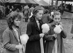 Welsh Fairground by Geoff Charles, 1952 (byLlGC ~ NLW)