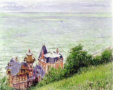 Gustave Caillebotte, Villas à Trouville (1884)