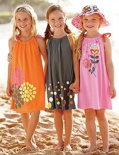 Couture Québec, Voici un modele de robe pour petites filles... …