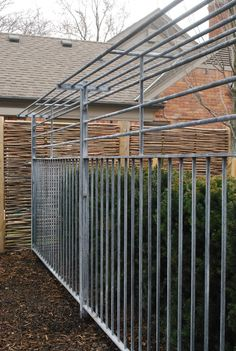 steel fence with a shelf top, from Branch