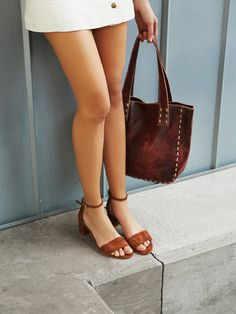 Marigold Block Heel at Free People Clothing Boutique