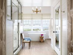 Master Bathroom Beach House florida beach house | master bathroom | pale gray & white | home