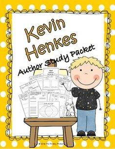 Kevin Henkes:  An  Author Study  Packet