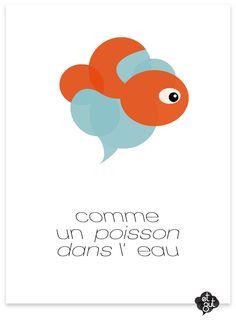 et zut... comme un poisson dans l'eau (http://pinterest.com/etzut/et-zut/)