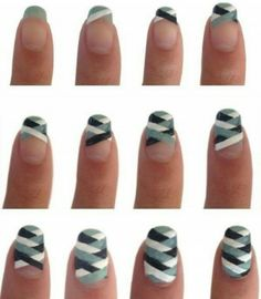 Tutorial for a Plaid Nail Design...x