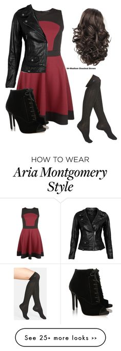 """Aria Montgomery (PLL)"" by martinastoessel04 on Polyvore"