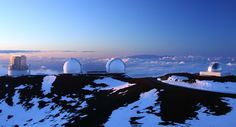 Mauna Kea Observatories in hawaii