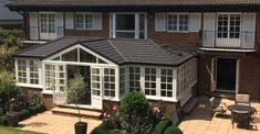 Are you finding that your conservatory roof is way too cold during the winter? Our fully insulated Guardian Warm Roof could instantly transform your conservatory into a cosy, quiet space that is usable all year round. Replacement Conservatory Roof, Conservatory Ideas, Warm Roof, Lead Roof, Family Dining Rooms, Lights Please, Roof Installation, Roof Window, Roof Styles