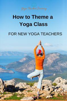Tips for New Yoga Teachers on Theming Yoga Classes. Get great theme ideas and resources! Yoga For You, Yoga For Kids, Kid Yoga, Become A Yoga Instructor, Yoga Themes, Yoga Books, Yoga Music, Partner Yoga, Yoga Teacher Training