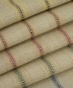 Classic cloth Gunny Stripe (Linen & Jute) this whole line, including the Rothsay, Avignon and Kilburnie..love them ALL