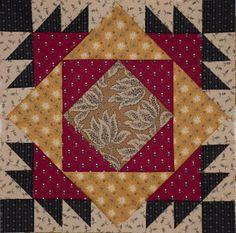 Double X Block (pineapple 9 patch sim. Hexagon Quilt, Quilt Block Patterns, Pattern Blocks, Square Quilt, Quilt Blocks, Quilting Quotes, Civil War Quilts, Patch Aplique, Quilting Designs