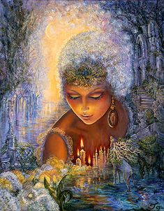 Dandelion Diva by Josephine Wall More