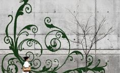 13 Incredible Examples of Moss Graffiti and How to Create Your Own | Blaze Press