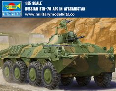 Russian BTR-70 APC in Afghanistan Trumpeter 01593