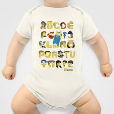 Simpsons Alphabet Baby Clothes by Mike Boon - $20.00
