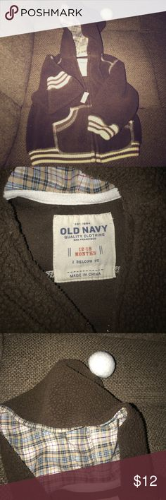 Old navy jacket 12-18Mo Washed and ready for a new home! Very warm Old Navy Jackets & Coats