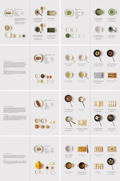 Minimal cookbook presents Japanese sweet ingredients as colour swatches