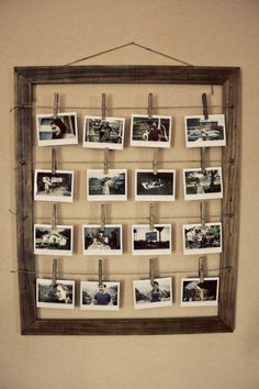 Picture frame photo display
