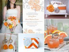 tangerine and gray