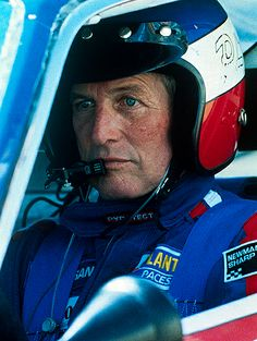 Paul Newman. My dad used to do helmets for the race teams. Paul Newman parked his RV at my parents house in the driveway when I was growing up and I remember eating all the Jolly ranchers out of his RV:)