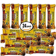 Nature Valley Protein Chewy Bar Peanut Butter Chocolate 24 142 oz Bars Individually Wrapped *** Find out more about the great product at the image link. Note: It's an affiliate link to Amazon.