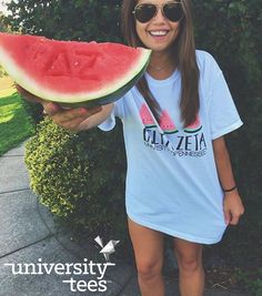 watermelon dreams | Delta Zeta | Made by University Tees | universitytees.com