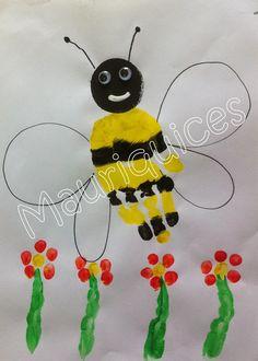 Mauriquices: Zzzzzzz... é uma abelha!!!