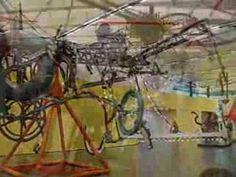 Tinguely- Zijn bewegende en veranderende machines waren een uitdrukking van zijn overtuiging dat de essentie van zowel het leven als de kunst bestaat uit continue verandering, beweging, en instabiliteit. Zijn nutteloze machines kunnen daarnaast worden opgevat als karikaturen van en kritieken op de mechanische wereld, het technologische systeem, en het geloof in de technologische vooruitgang.
