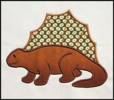 INSTANT DOWNLOAD Dinosaurs Applique SET by DBembroideryDesigns