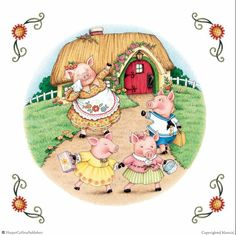 The Three Little Pigs - Mary Engelbreit's Nursery Tales: A Treasury of Children's Classics