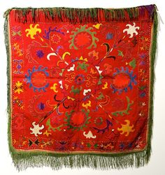 nomads embroidery Lakai --- Uzbek textiles on show in Calgary, Alberta until January 2014