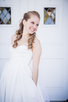 Bridal portraits at this Church wedding by Knoxville Wedding Photographer, Amanda May Photos