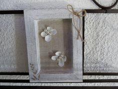 Cadre papillons - Quadro con farfalline in legno