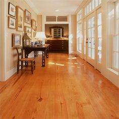 Heart Pine Solid Wood Flooring from Southern Wood Floors
