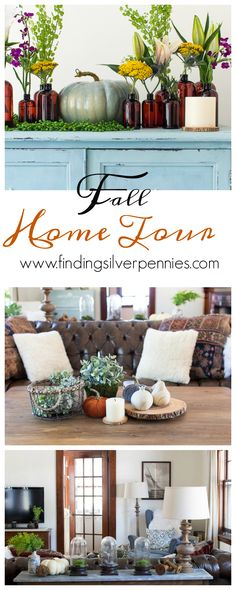 Fall into Home Tour / Finding Silver Pennies / www.findingsilverpennies.com