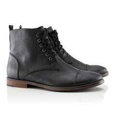 H and M black boots