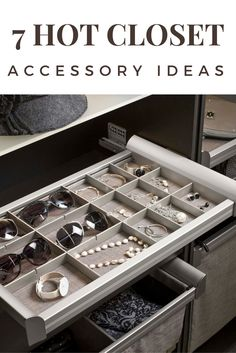 Hafele& modular, custom closet system engages customers with easy… Walk In Closet Design, Bedroom Closet Design, Wardrobe Design, Closet Designs, Diy Custom Closet, Custom Closets, Diy Jewellery Drawer, Jewelry Storage, Jewelry Tray
