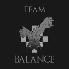 Check out this awesome 'Team+Balance' design on Pokemon Poster, Pokemon Team, Pokemon Card Packs, Pokemon Cards, All Pokemon Evolutions, Pokemon Zoroark, Off White Comic, Dragon Type Pokemon, Cool Pokemon Wallpapers